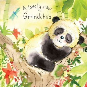 FIZ11 - New Grandchild Card Panda